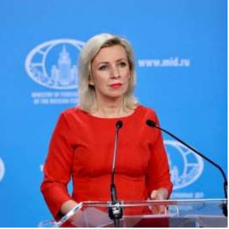 Zakharova讲述了向国外俄国人提供援助的制度。